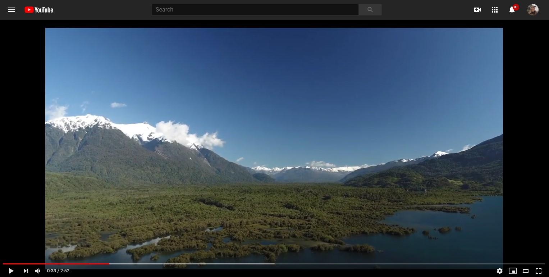 video lake yelcho