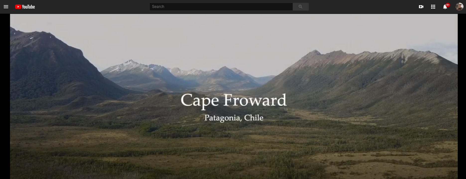 Video of Cape Froward Chile